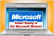 Smart Stamp is the Microsoft Contest Winner!